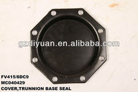 mitsubishi fuso trunnion shaft cover for FV415/8DC9