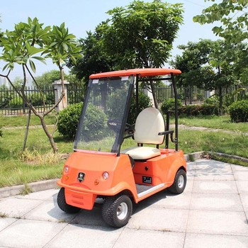 Electric single seater mini golf cart with CE certificate DG-C1