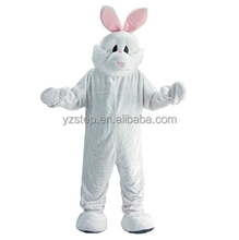 Happy Easter Adult Mascot Bunny Costume