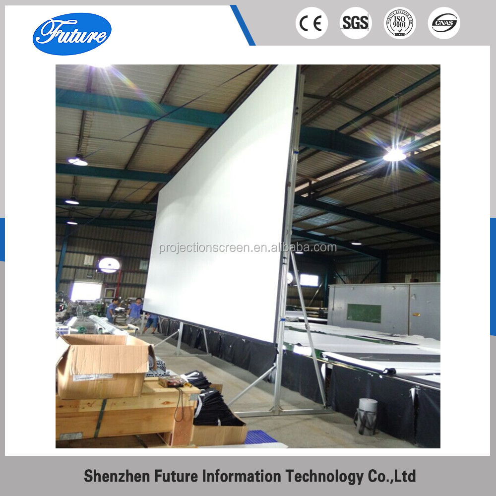 "300"" 4:3 Fast fold projection screen with flight case"