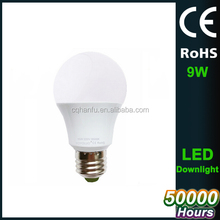 OEM product,2.4g e27 6w rgb dimmable wifi led bulb 4zone rf touch remote control