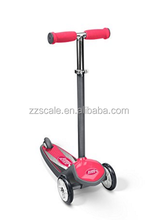 premium quality custom kids pedal scooter / scooter for children 1-8 years old / adjustable height baby scooter