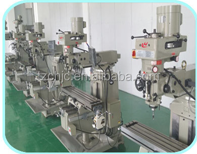 Factory direct supply 4H/ 5H turret head vertical milling machine