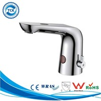 Automatic Sensor Chrome / Nickel Plated Basin Mixer Tap