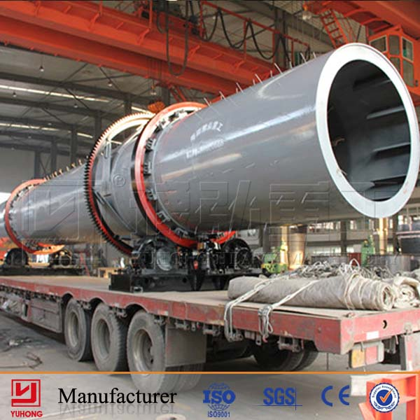 Lignite Coal Rotary Dryer Hot Sale in America and Brazil India from Manufacturer