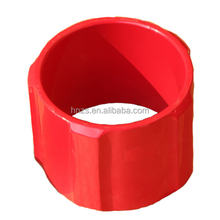 API solid body / Rigid casing centralizer with Spiral and Straight Blades and screw type stop collar