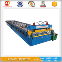 26-200-1000 Color ibr roof sheet customed steel plate metal door frame roll forming machine made in china
