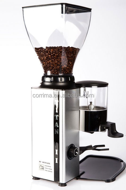 Good Quality Full Automatic Professional coffee grinder flat burr