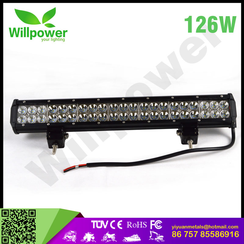 amber white IP67 car accessories led offroad light bar wholesale cheap auto light bar