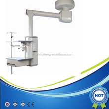 HFP-DD240 380 Operating Room Equipment / Mechanical Horizontal Pillar Single Arm Surgical Pendant / Medical Ceiling Pendant Supp