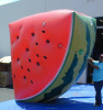 Product reproductions outdoor decoration giant inflatable fruit inflatable watermelon