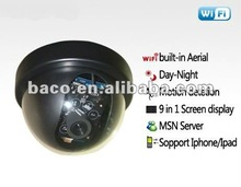 Outdoor apexis outdoor wireless ip camera ,day night IR 12LED Motion detection, Remote Warning