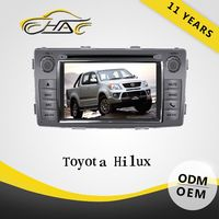 For toyota hilux car gps navigation system 7'' gps maps for windows ce 6.0