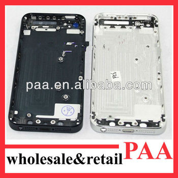 Hot Sale!For iphone5 Original And Brand New Back Cover Accept Paypal