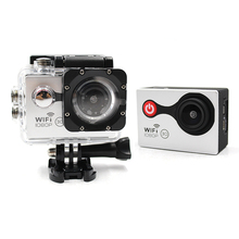 Digital Camera Hot Sale on Amazon Waterproof 30m Full HD 1080p Mini Sports Promotion Action Camera for Skiing / Diving