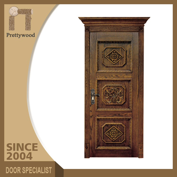 New Design Decorative Interior House Inside Strong Clean Wood Room Door