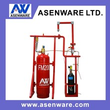 N2 Driving Pipe Network gas fire extinguishing equipment FM200