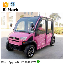 45km/h smart car, 4 seats personal sightseeing electric car rwd electrical vehicle