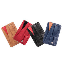 Wholesale multi-function PU leather <strong>phone</strong> back business card <strong>pocket</strong> <strong>with</strong> ring holder function credit card <strong>wallet</strong> <strong>pocket</strong>