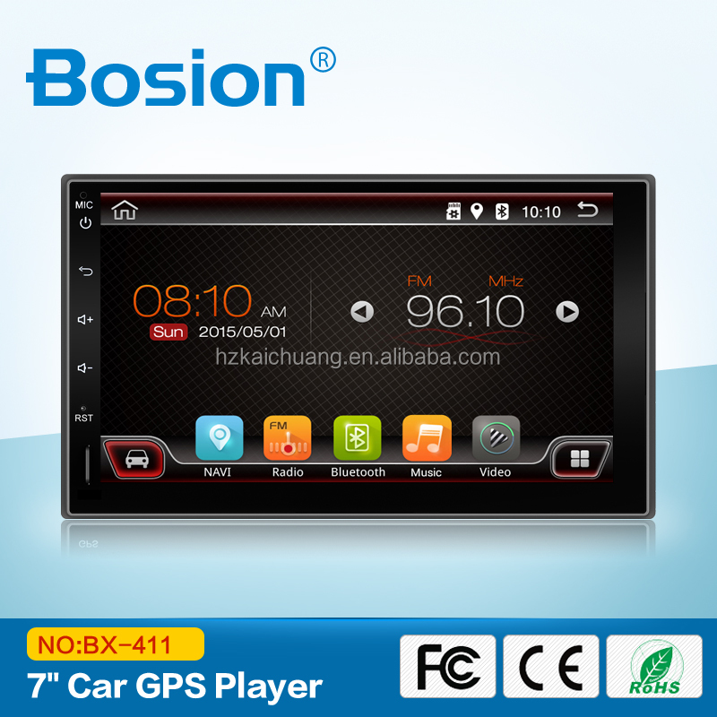 Android 6.0.1Factory Made In China 2 Din 7in Car DVD Player For Peugeot 407/408 With Touch Screen and WIFI TV