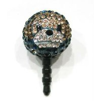 Wholesale Cheap Shamballa (smile face) Dust-proof Plug For Iphone SBL-516