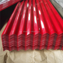 Prepainted galvanized/galvalume corrugated steel sheet