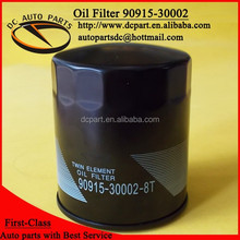 Oil filter 90915-30002-8t for Toyota Avensis