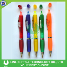 OEM Logo Plastic Ball Pen With Highlighter, Promotional Ball Pen, Ball Pen Supplier