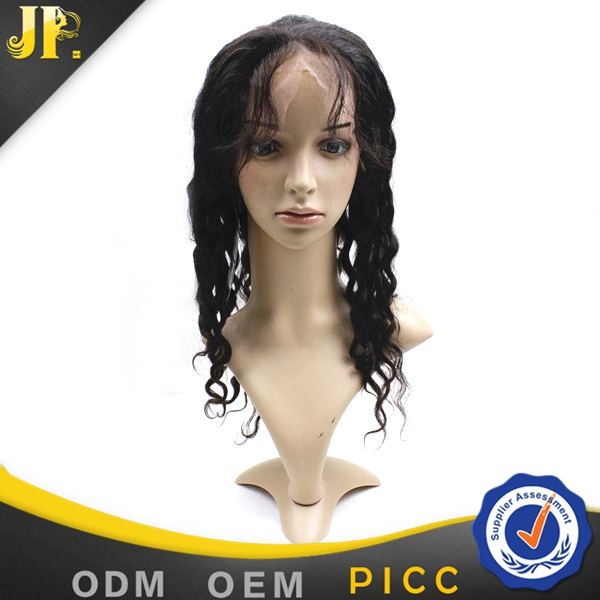 JP Hair factory price deep wave short human hair full lace wigs lace front wigs