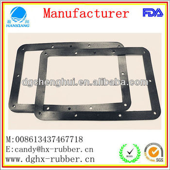 Chemical resistant EPDM glass rubber gasket