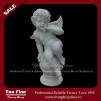 Stone Baby Angel Figurines
