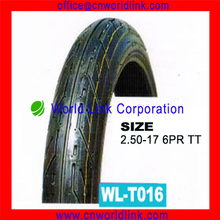 Manufacturer Hot Sale Natural Rubber Cheaper kinds of Size Motorcycle Tyres