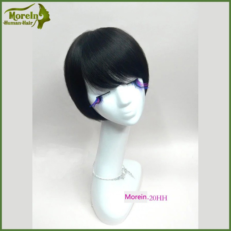 New Style Remy brazilian bob wig Short bob style human hair full lace wig for black women