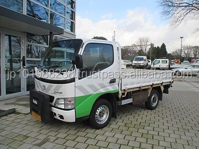 USED TRUCKS - TOYOTA DYNA 150 FLAT-BED (LHD 3476 DIESEL)
