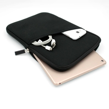 Customized Portable Ultralight Neoprene 11 inch Mini Laptop Sleeve Case with Outer Pocket for Macbook air