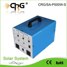 92% efficiency 500W solar home lighting system for ome applicances fans