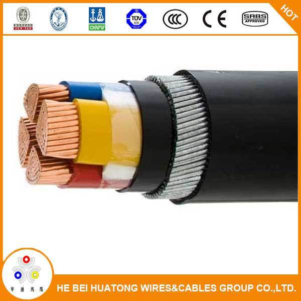 Professional Factroy 0.6/1KV 4 core xlpe insulated armoured power cable