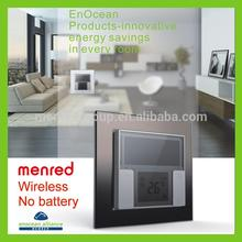 MENRED Home wall Solar power No batterty No wiring touch wall light switch