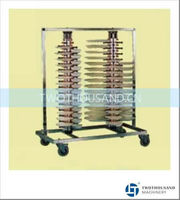 Restaurant Plate Rack, Kitchen Plate Rack - 120 Plates, Vertical Type, TT-BU132