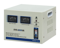 svc ac automatic voltage regulator 2000va stabilizer with competitive price