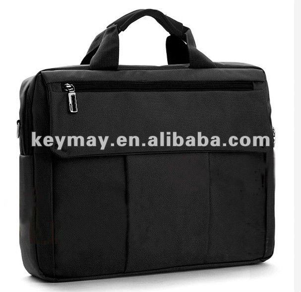 Men's 1680d portable hp 19inch black fashion laptop bags wholesale