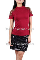 new across fashion ladies top blouse woman clothing models chiffon blouses