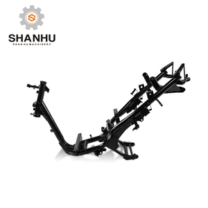 China Zhejiang taizhou manufacturer 150cc 50cc electric gas scooter motorcycle body frame for BWSI