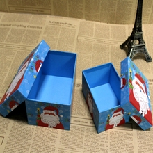 OEM customized gift box christmas present packaging hat box set