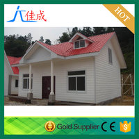 european style sandwich panel light steel prefabricated houses and villas