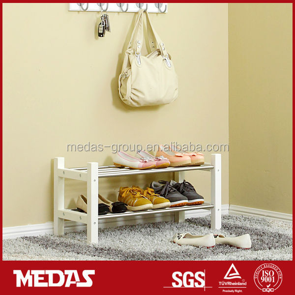 household wood shoe cabinet rack shelving