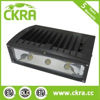 surface conduit mounting IP66 Rated 100-277V AC COB walkway lighting Sensor Led Wallpack Light