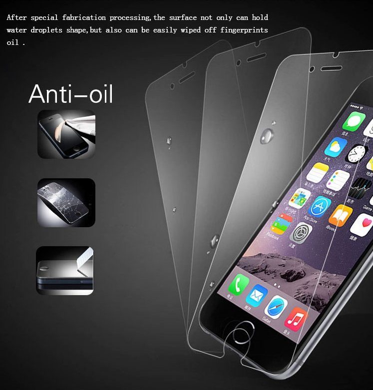 2.5D 0.33mm 9H Screen Protector Tempered Glass Anti Oil Fingerprint Phone Accessories for Samsung All Series