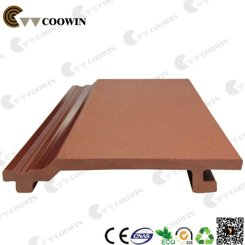 China Coowin WPC decorative vinyl siding panel