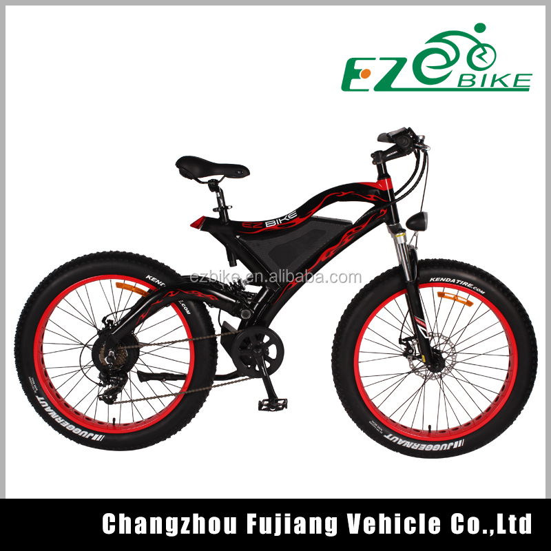 48v 500w fat tire cruiser electric bike, snow e bike